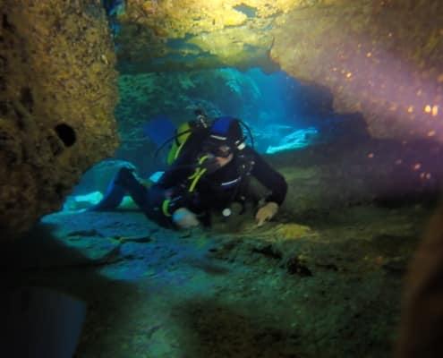 Tauchplatz Höhle Las Eras