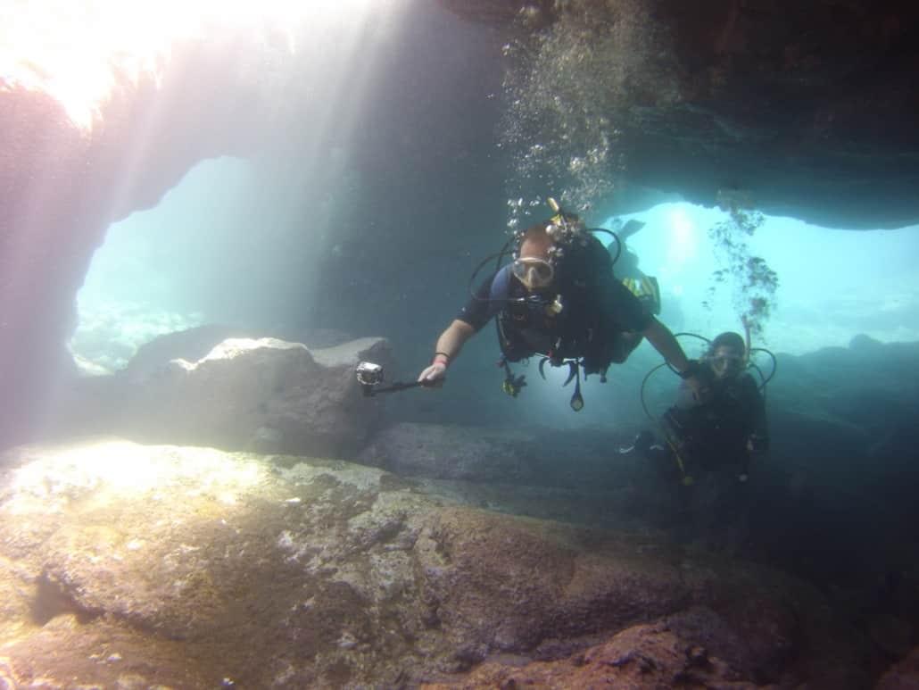 Tauchplatz Höhle Los Abrigos