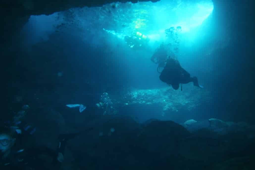 Tauchplatz Marazul Höhle