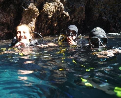 Tauchplatz Mar Azul Grotte