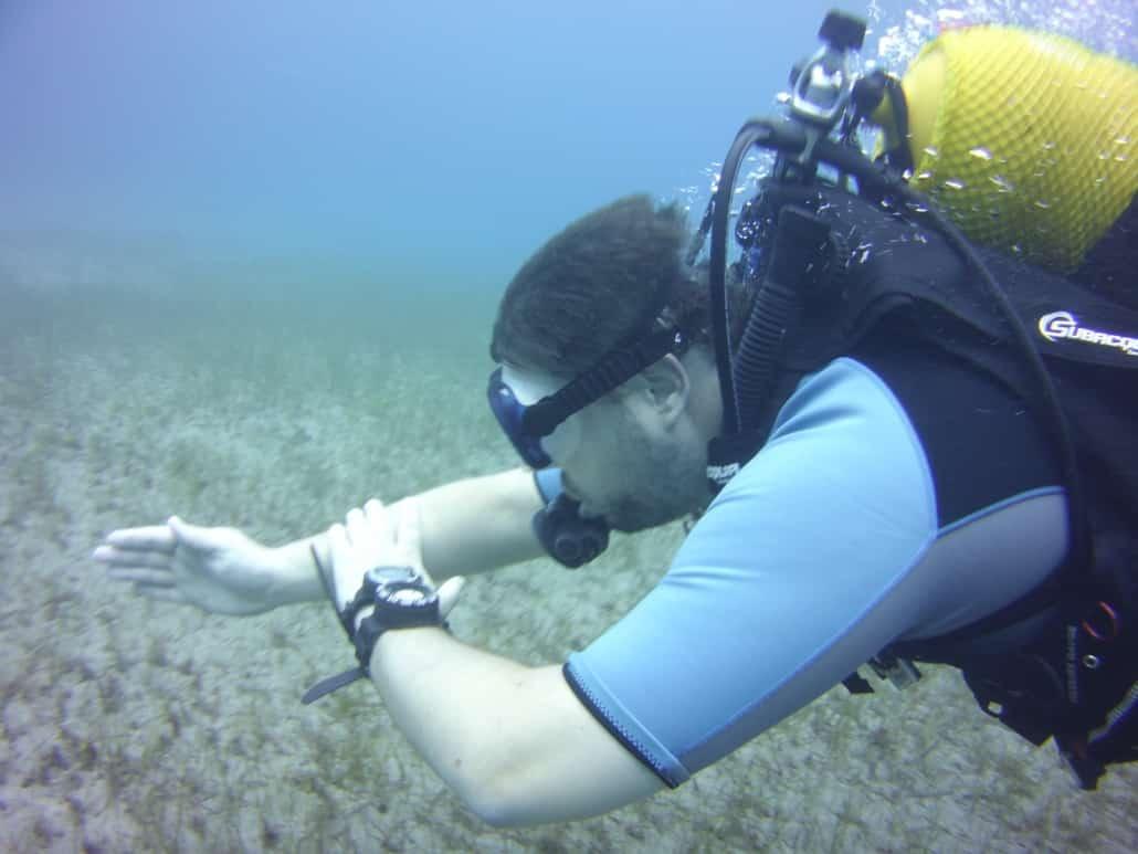 Tauchkurse Open Water Diver Navigation