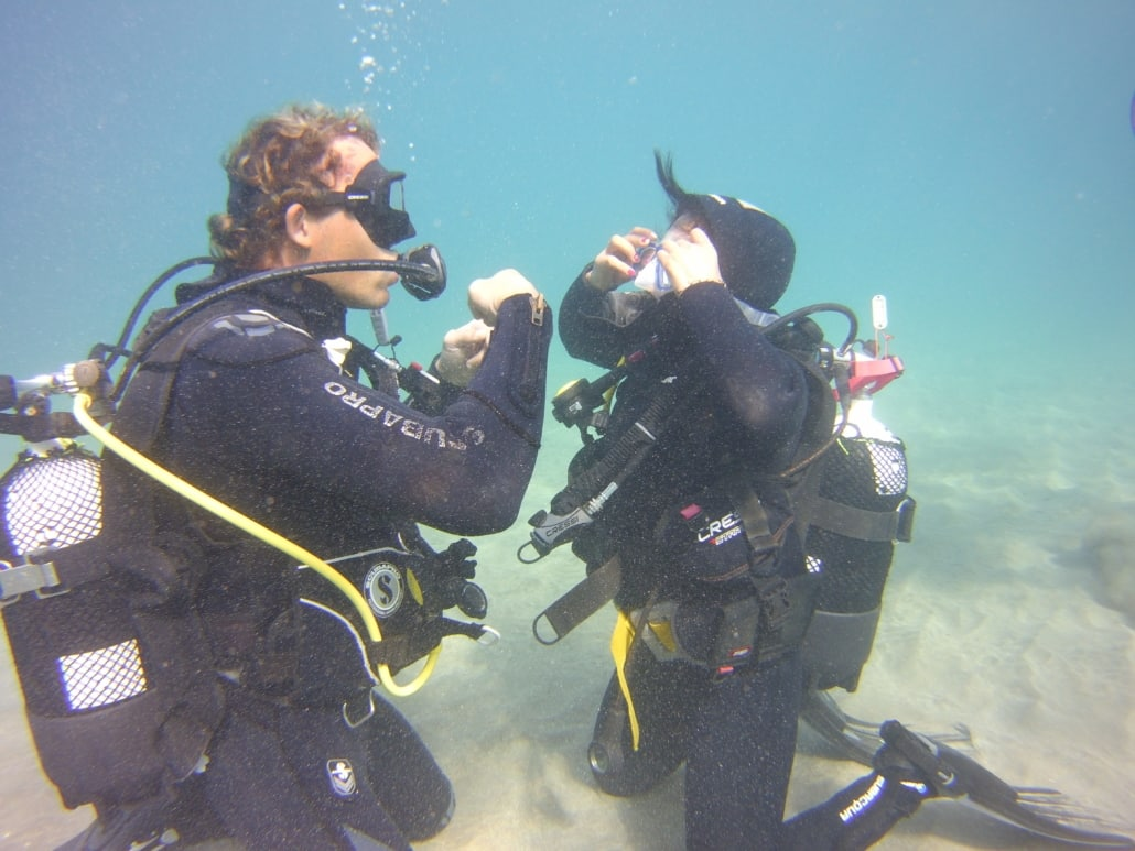 Tauchkurse Open Water Diver
