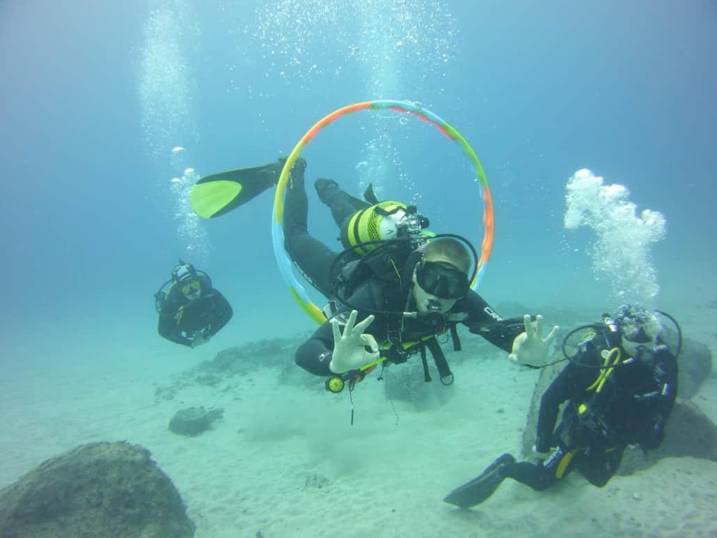 Tauchkurs Advanced Open Water Diver perfekte Tarierung