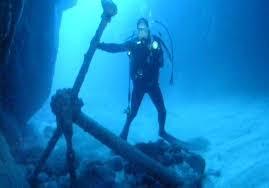 Anker Unterwasser